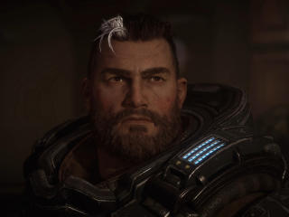 Gabriel Diaz in Gears Tactics wallpaper
