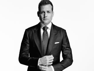 Gabriel Macht Black & White 2018 wallpaper