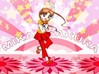 gakuen alice, sakura mikan, girl wallpaper