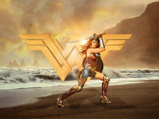 Gal Gadot Wonder Woman 4k wallpaper