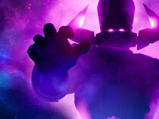 Galactus Fortnite 4K wallpaper