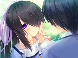 game cg, hazuki mikuri, sakura no reply wallpaper