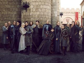 Game of Thrones 2019 Full Cast wallpaper