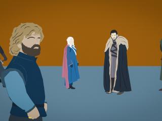 Game Of Thrones 7 Finale Minimal wallpaper