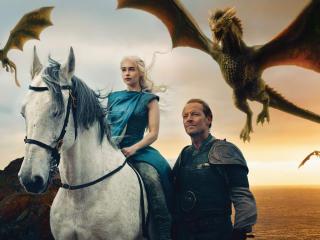 game of thrones, daenerys targaryen, emilia clarke wallpaper