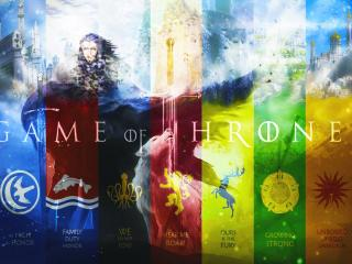Game Of Thrones Different Flag Images wallpaper