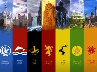 Game Of Thrones Hd Flag wallpaper