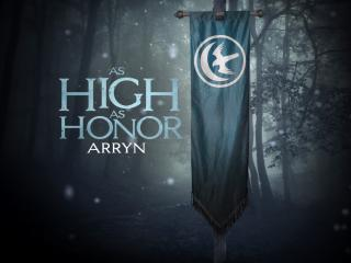 Game Of Thrones House Arryn Banner Hd wallpaper