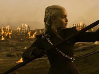 Game Of Thrones Season 7 Emilia Clarke As Daenerys Targaryen wallpaper