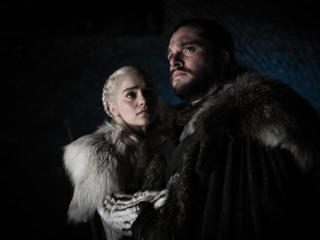 Game Of Thrones Season 8 Jon Snow and Daenerys Targaryen wallpaper