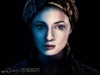 Game of Thrones Sophie Turner As Sansa Stark wallpaper
