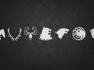 Game Of Thrones Symbols Wallpaper wallpaper