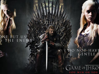 Game Of Thrones Tv Show Poster Wallpaper wallpaper