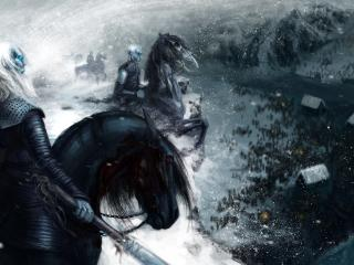 Game Of Thrones White Walker Artwork wallpaper
