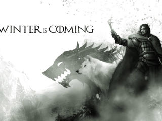Game of Thrones Winter is Coming Wallpaper 01 wallpaper