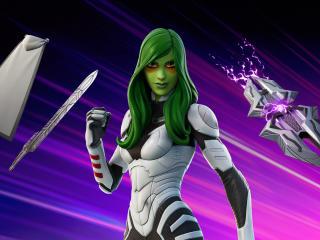Gamora Fortnite wallpaper