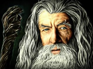 Gandalf The Lord of the Rings Artwork wallpaper