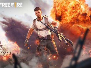 Garena Free Fire Explosion wallpaper