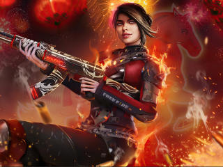 Garena Free Fire Sniper wallpaper