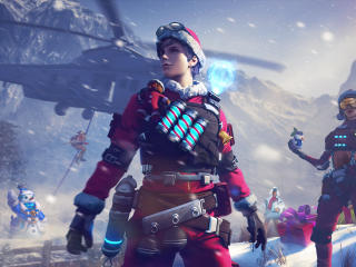 Garena Free Fire Winter wallpaper