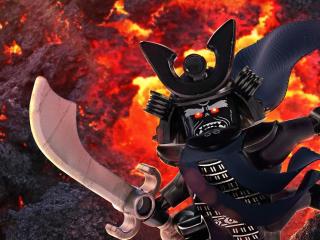 Garmadon from Kai - The LEGO Ninjago Movie wallpaper