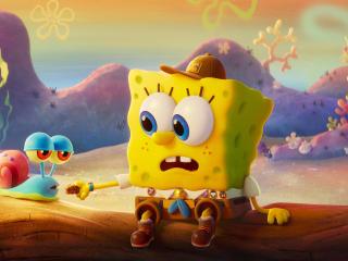 Gary & SpongeBob wallpaper
