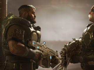 Gears Tactics Game wallpaper