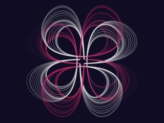 Generative Minimal Art wallpaper