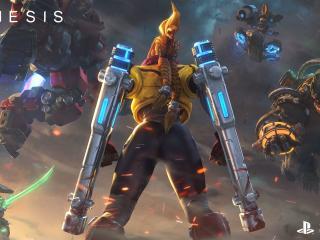 Genesis Game wallpaper
