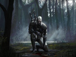 Geralt Of Rivia Artwork wallpaper