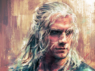 Geralt of Rivia Drawing wallpaper