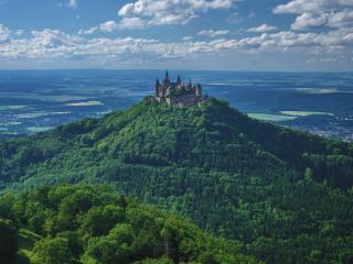 Germany Hohenzollern Castle wallpaper