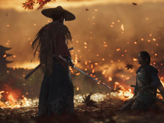 Ghost Of Tsushima 4k wallpaper