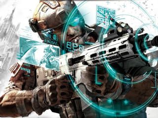 ghost recon, future soldier, automatic wallpaper