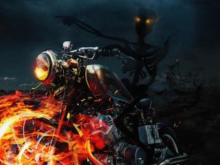 Ghost Rider Spooky Marvel Art wallpaper
