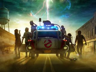 Ghostbusters Afterlife HD Movie wallpaper