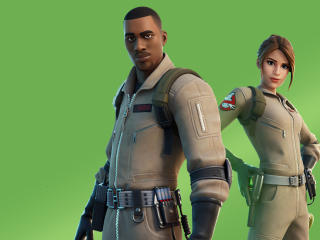 Ghostbusters Fortnite wallpaper