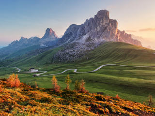 HD Wallpaper | Background Image Giau Pass Italy