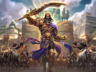 Gilgamesh King of Uruk Smite wallpaper