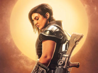 Gina Carano The Mandalorian wallpaper