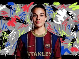 Giovana Queiroz FC Barcelona wallpaper
