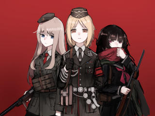 Girls Frontline Touhou wallpaper