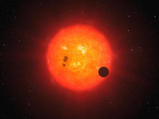 Gliese 1214 b Digital wallpaper