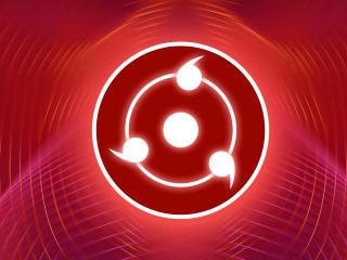 Glowing Sharingan HD Naruto wallpaper