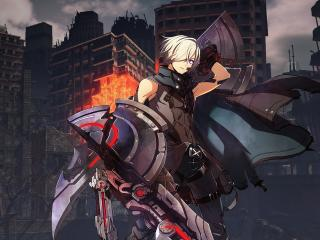 God Eater 3 4K wallpaper