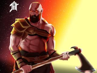 God Of War FanArt wallpaper