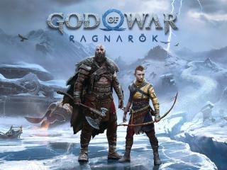 God of War Ragnarok HD Game Poster wallpaper