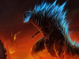 Godzilla 2021 FanArt wallpaper