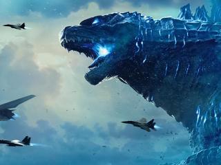 Godzilla 4K 8K Banner wallpaper