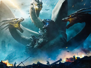 Godzilla King Of The Monsters 4k 8k wallpaper
